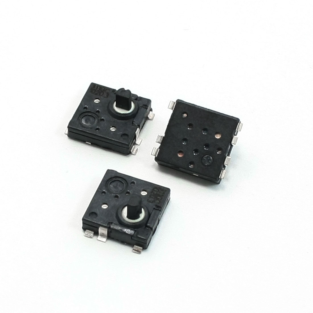 DC12V 0.3A 5x8x8mm Panel PCB Mounted Momentary 7 Terminal Tact Switch 3 Pcs