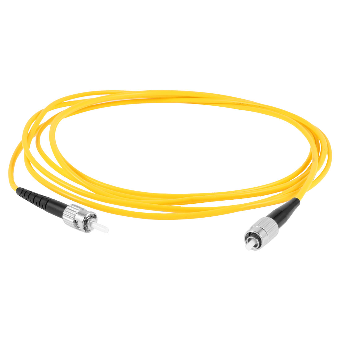 Yellow FC to ST SM Simplex 9/125 Fiber Optic Jumper Cable 3.0 10ft 3Meter