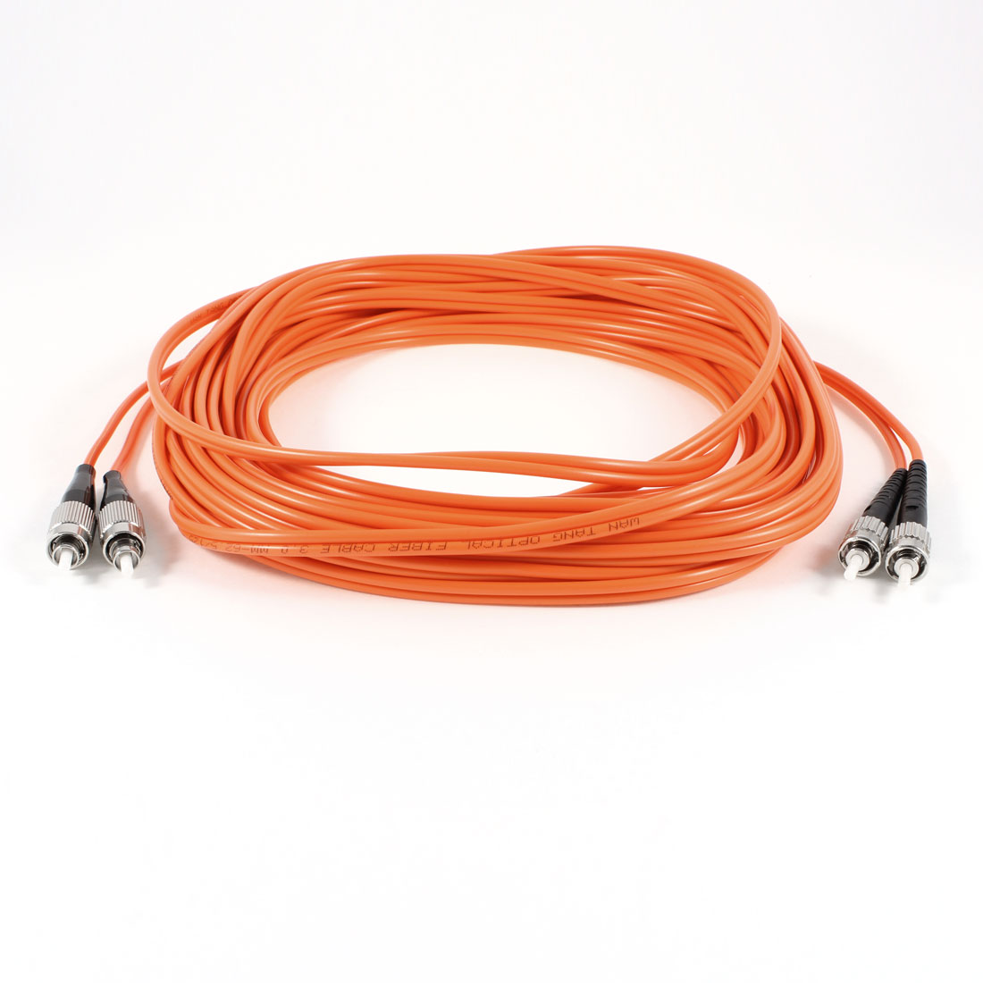 10M 33ft Fiber Optic Cable FC to ST Multi Model MM Duplex 62.5/125 3.0