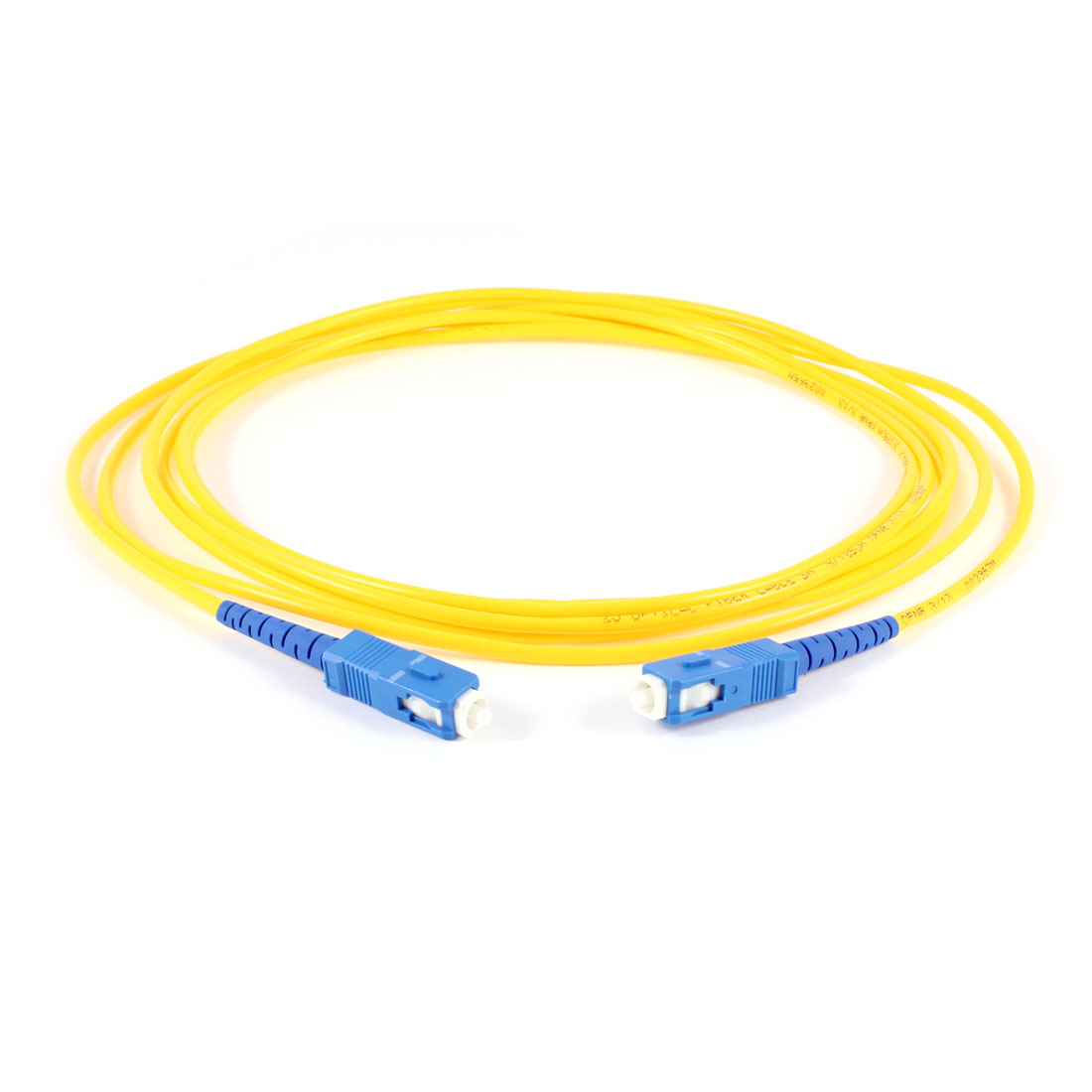 Yellow 10ft 3Meter Fiber Optic Cable SC to SC SM Single Model SX 9/125 3.0