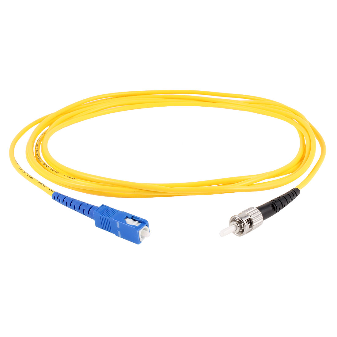 Yellow SC to ST Fiber Patch Cable Cord Jumper SX SM 9/125 3.0 3Meter 10ft