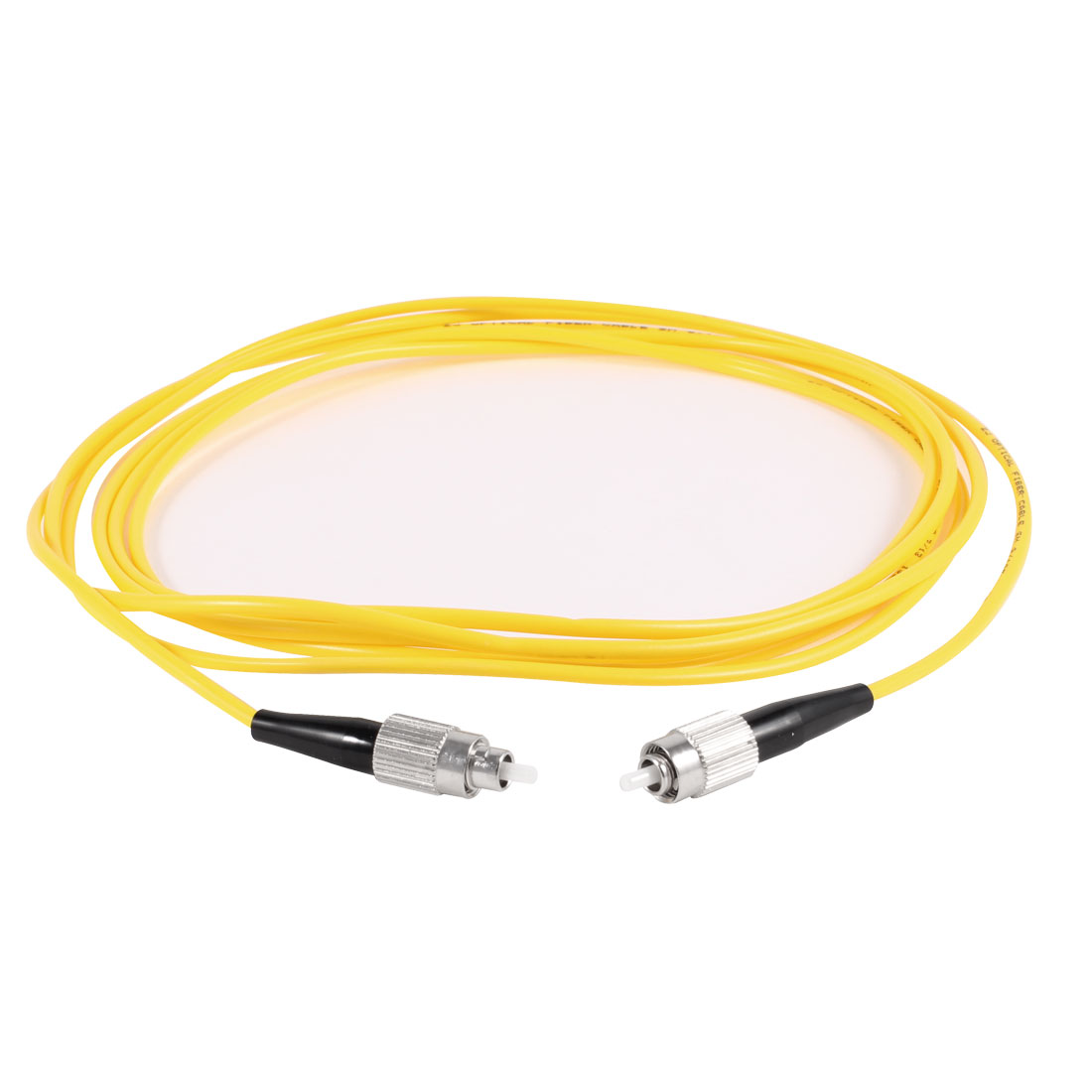 Yellow 3Meters Fiber Optic Cable FC to FC SM Single Model SX 9/125 3.0