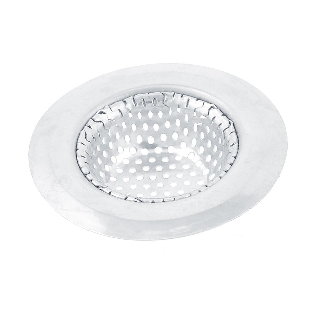 Home Washroom Stainless Steel Basket Drain Sink Strainer