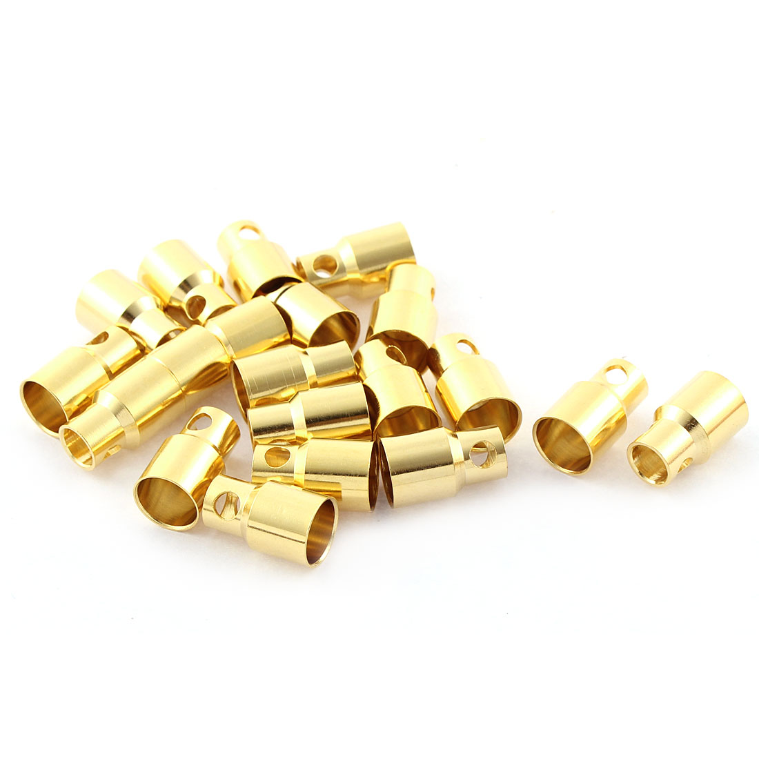 RC Battery 8mm Inside Dia 15mm Length Banana Female Plug Connector 20 Pcs