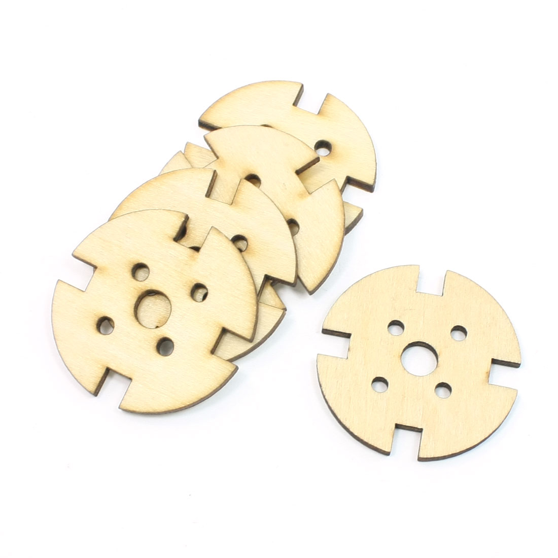 2 Pcs Round Wooden Mount for 2212 2208 RC Plane Brushless Motor