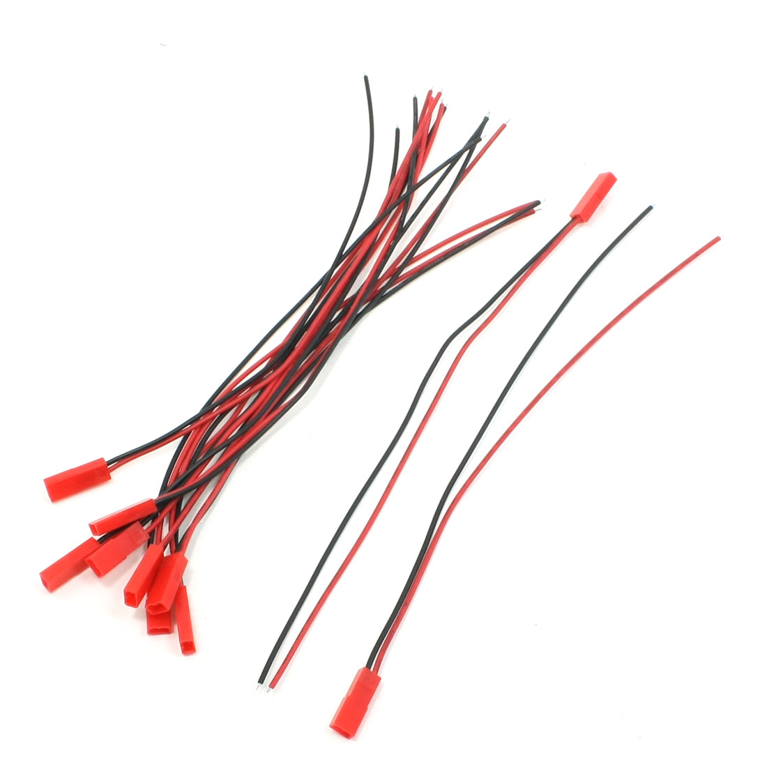 10Pcs JST Female Connector 22AWG Wire 200mm for RC Model Plane