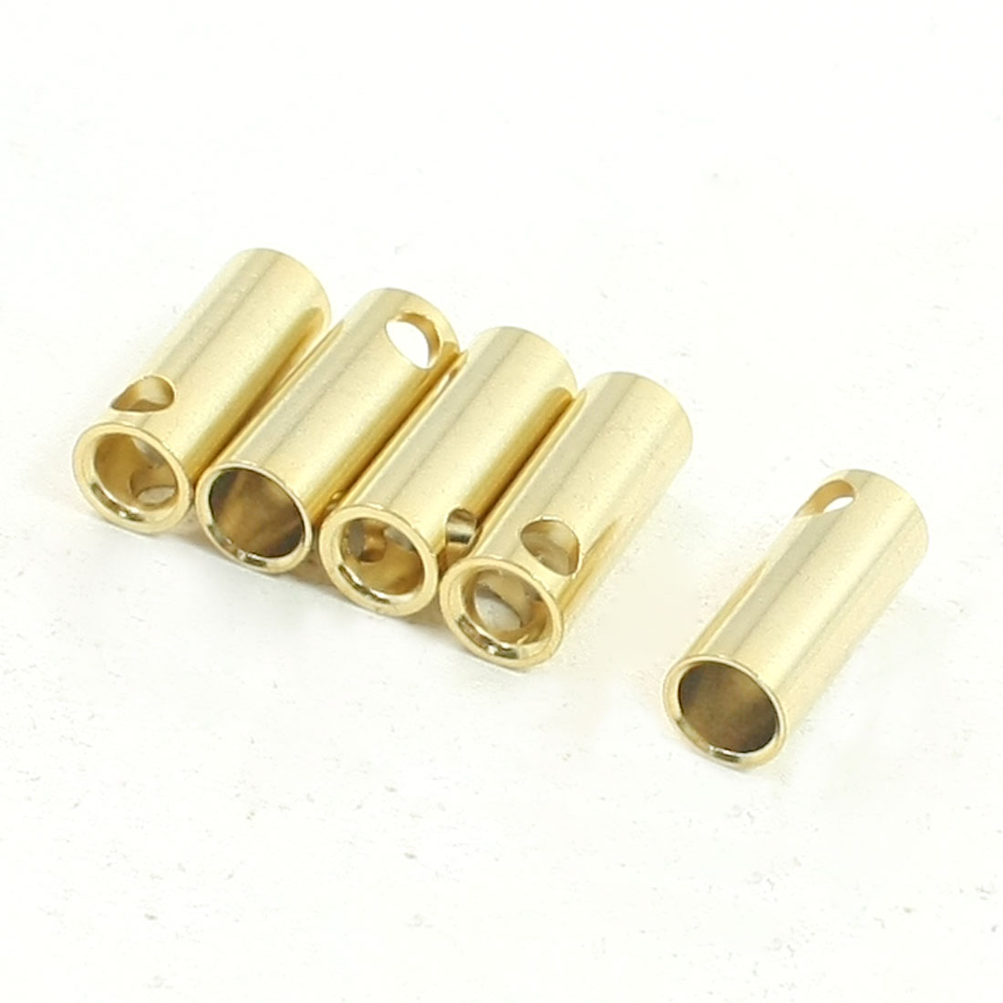 RC Model Helicopter Motor Battery 5.5mm Banana Plug Female Connector 5 Pcs