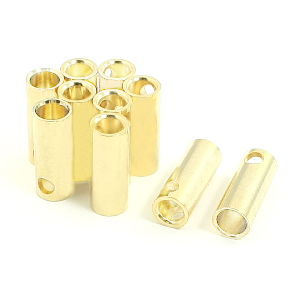 5.5mm Brushless Motor Spare Part Banana Female Connector 10 Pcs