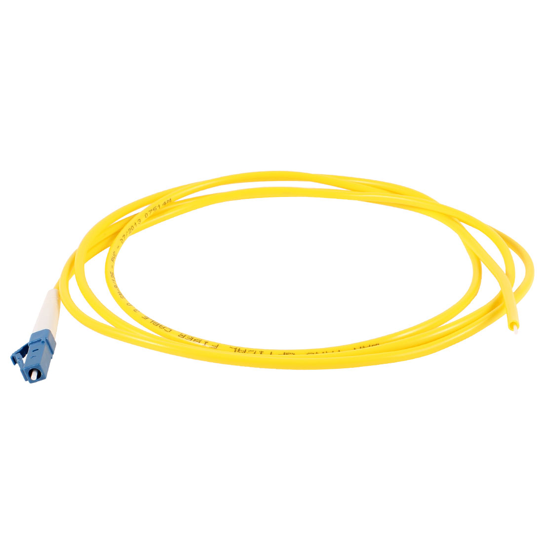 Yellow 5ft 1.5Meter Fiber Optic Cable SC to SC SM Single Model SX 9/125 3.0