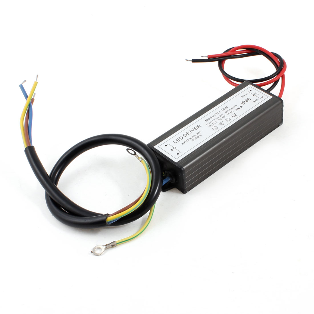HY20W Model 10-Series 2-Parallel AC 85-265V Input 20-38V 600mA Output LED Driver