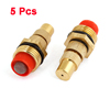 "5 Pcs 1/2""PT Thread Brass Connector Hose Nozzle for Gardening"