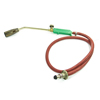 Green Plastic Handle Red Tube Liquefied Gas Blow Torch Piezo Ignition