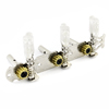 Off White ButtonMachine Head Guitar Tuning Key Peg Tuner