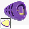Handy Purple Plastic Guitar Plectrum Thumb Pick Case Box