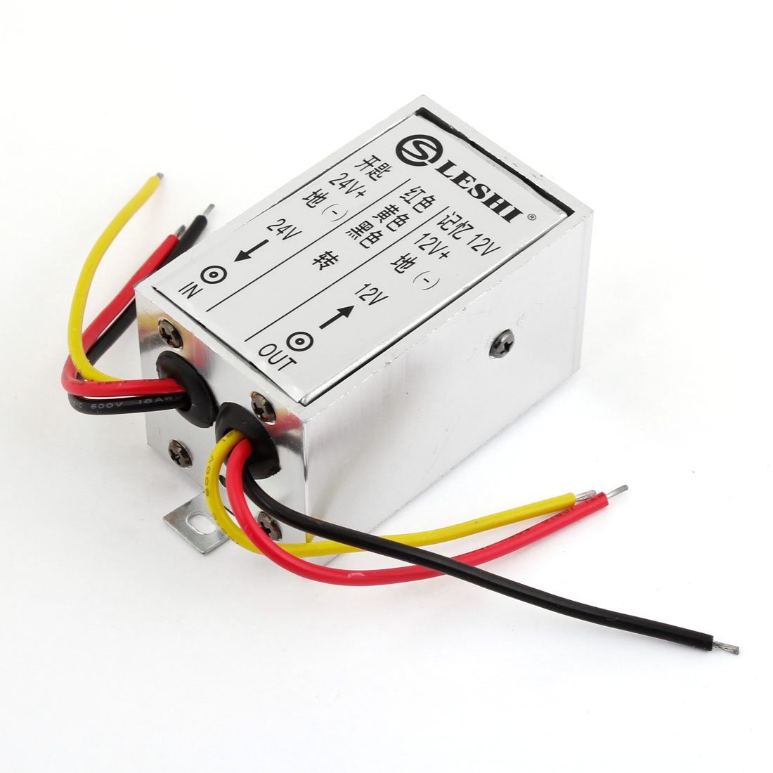 5A 24VDC to 12VDC Power Supply Transformer Converter for Car