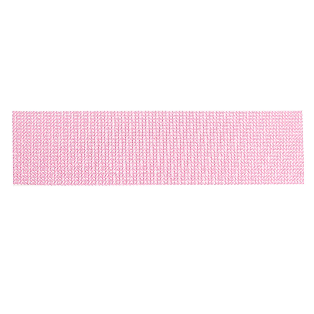 Auto Pink 4mm Dia Sparkling Rhinestones Detail DIY Stickers Decal 36cm Length