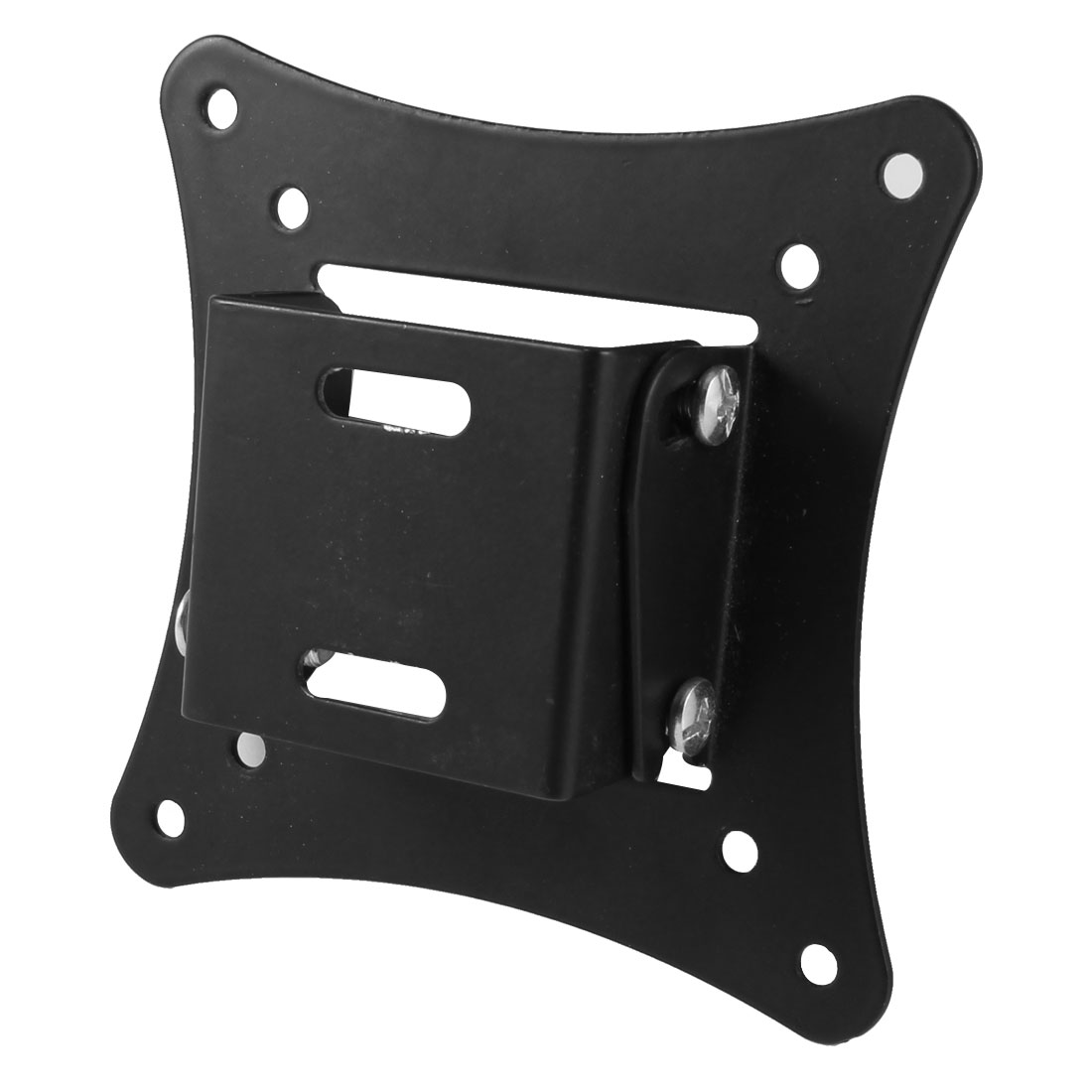 "Black Metal Wall Mount Rack Stand Bracket for 14""-26"" LCD Flat Panel TV"