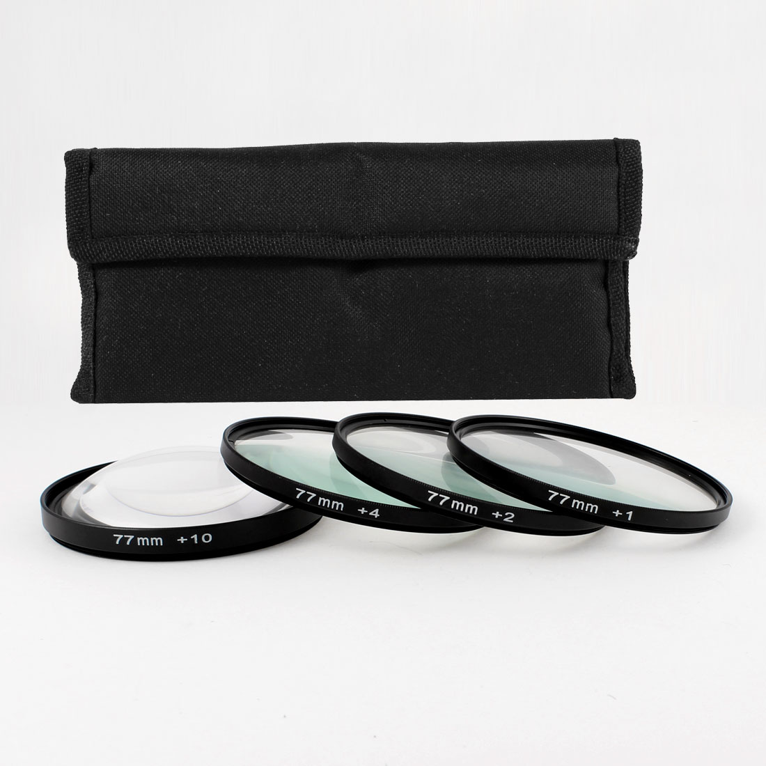 77mm Macro Close Up Lens +1 +2 +4 +10 Filter Kit for DSLR SLR Camera