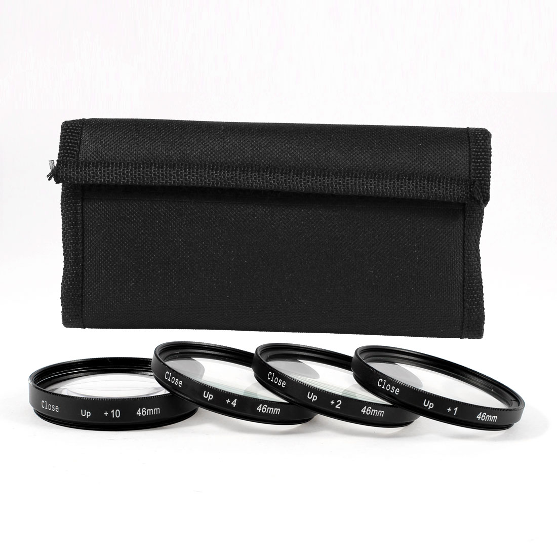 46mm Macro Close Up Lens +1 +2 +4 +10 Filter Kit for DSLR SLR Camera