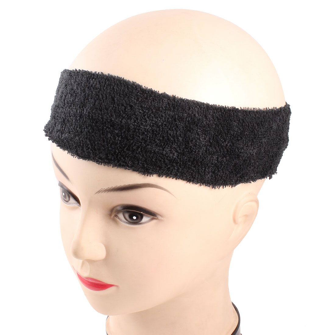 Black Stretchy Headbands Hairband Hair Holder for Women