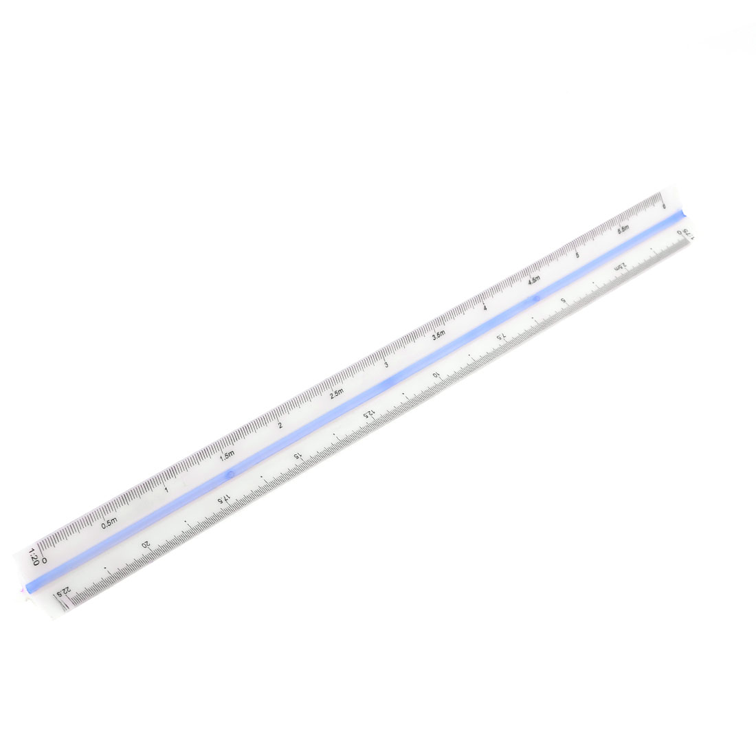 Engineer Plastic Triangular Scale Ruler 1:20 1:25 1:50 1:75 1:100 1:125