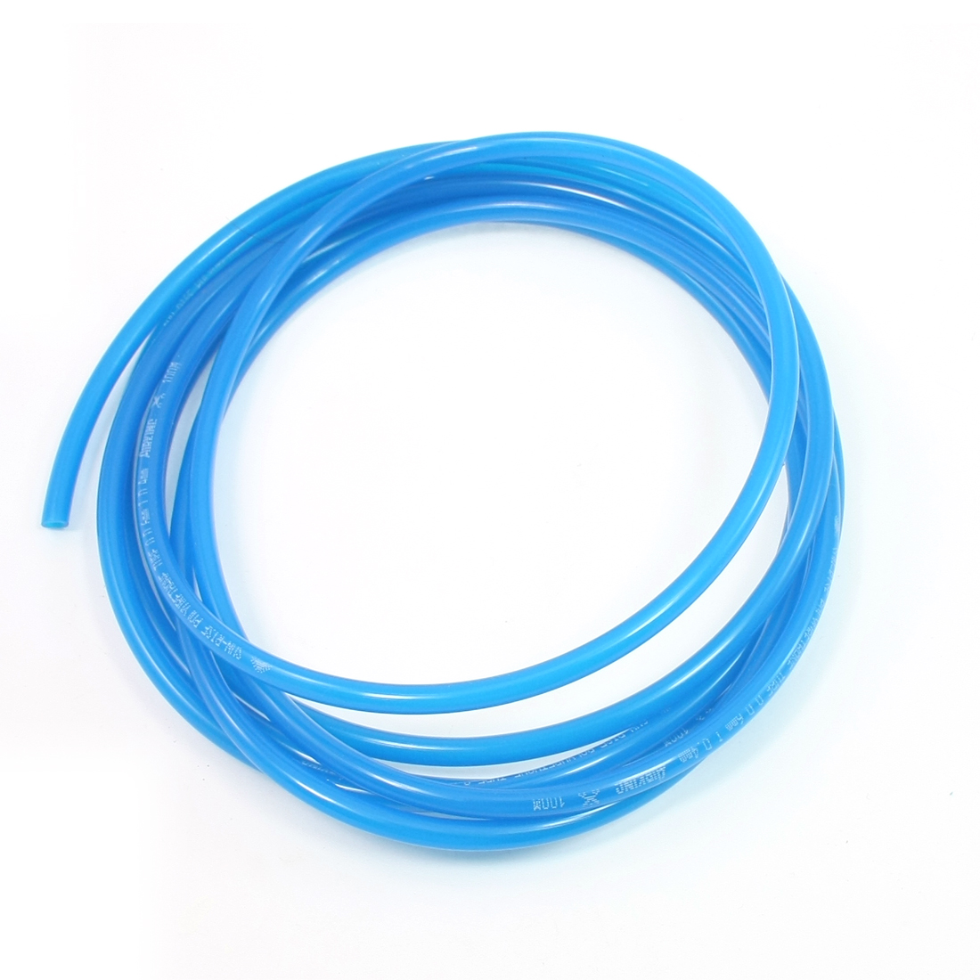 6mm OD 4mm Inner Dia 1.3mm Wall Thickness Air PU Tube Pipe Hose 3.1M Blue
