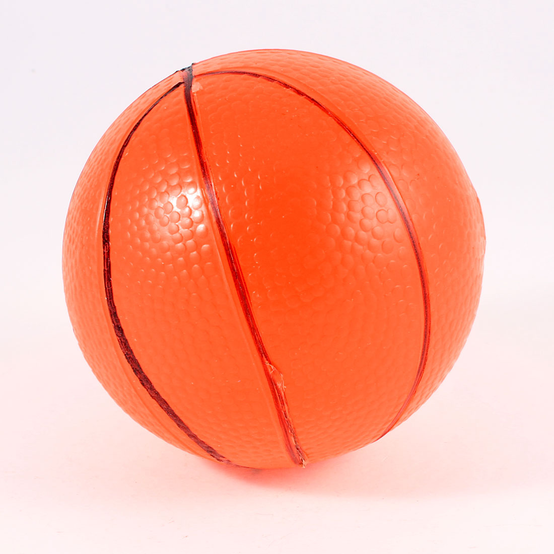 9cm Diameter Orange Inflatable PVC Mini Basketball Toy Gift for Children