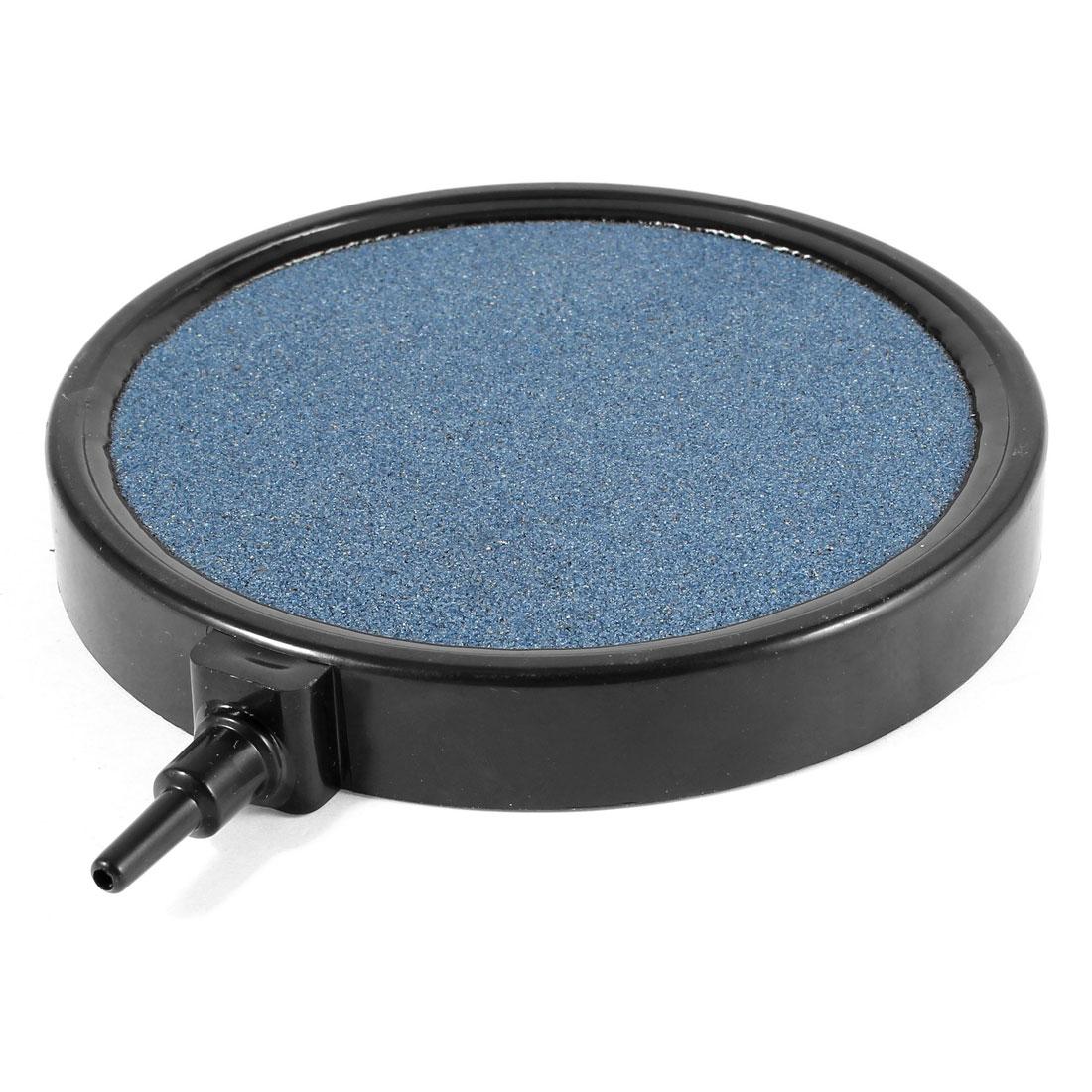130mm x 19mm Steel Blue Mineral Bubble Air Stone for Aquarium Fish Tank