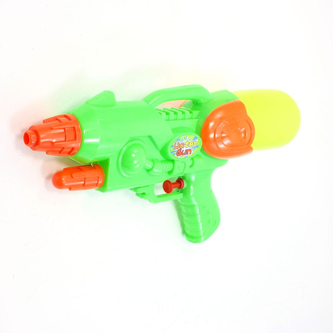 Plastic Squirt Fight Toy Yellow Green