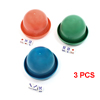 3 PCS KTV Pub Casino Entertainment Games Plastic Shaker Cup w Dices