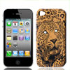 Tiger Pattern Hard Plastic Cover for iPhone 4 4G