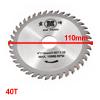 40T Circular Carbide Slitting Saw Blade Cutter 110mm x 20mm