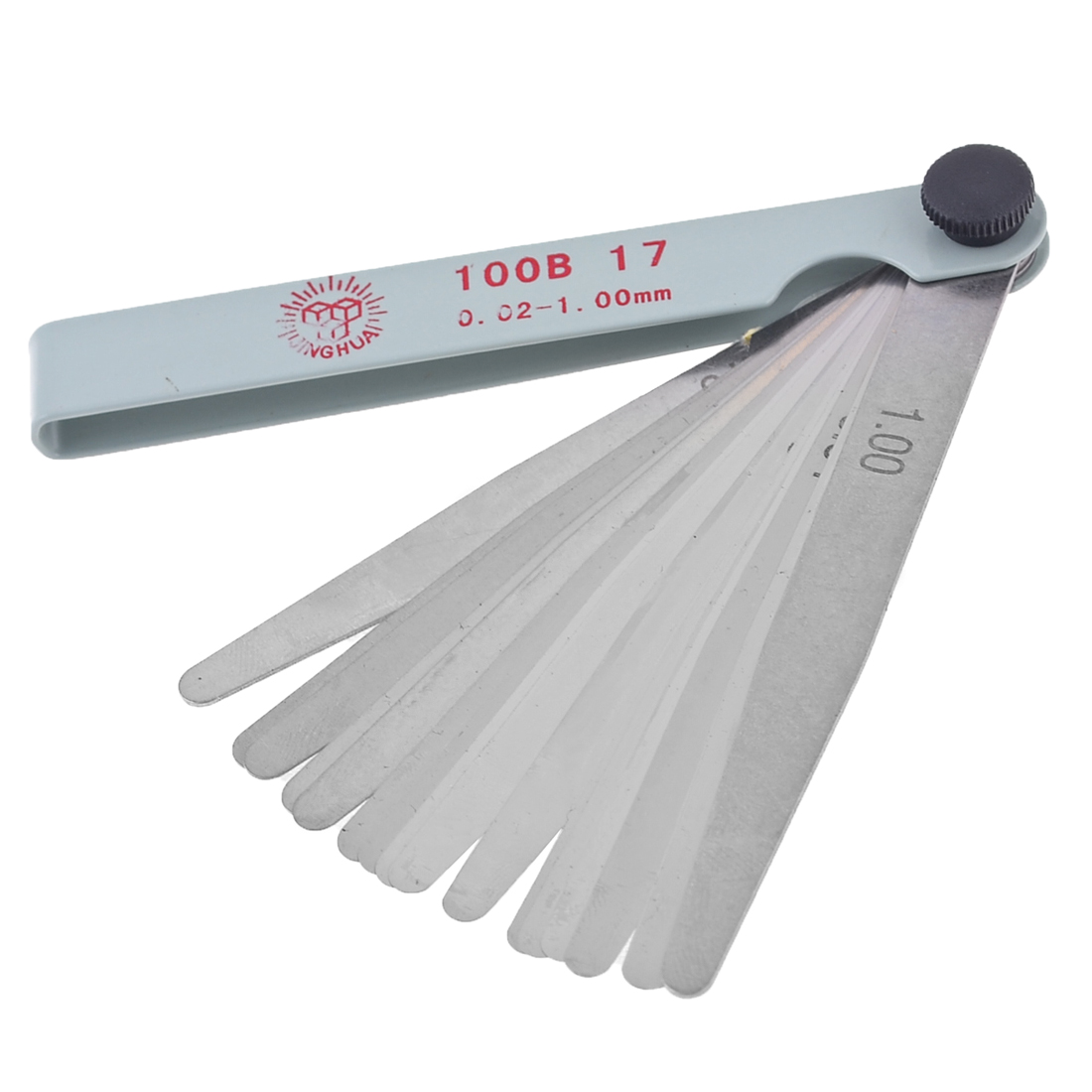 10.5cm 0.02-1.0mm Metric Gap Measure Feeler Gauge Measure Tools