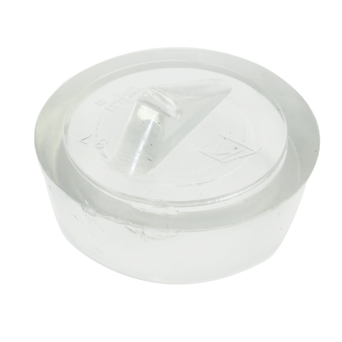 41mm Diameter Water Sink Drainer Mounted Clear Rubber Disposal Stopper