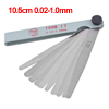 10.5cm 0.02-1.0mm Metric Gap Measure Feeler Gauge Measure Tools