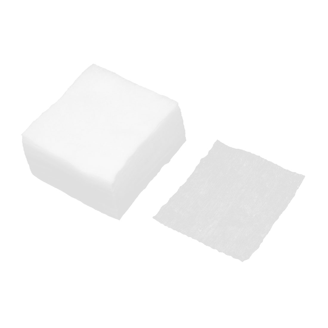 180 Pcs Make Up Remover White Rectangle Cotton Pads Facial Puff
