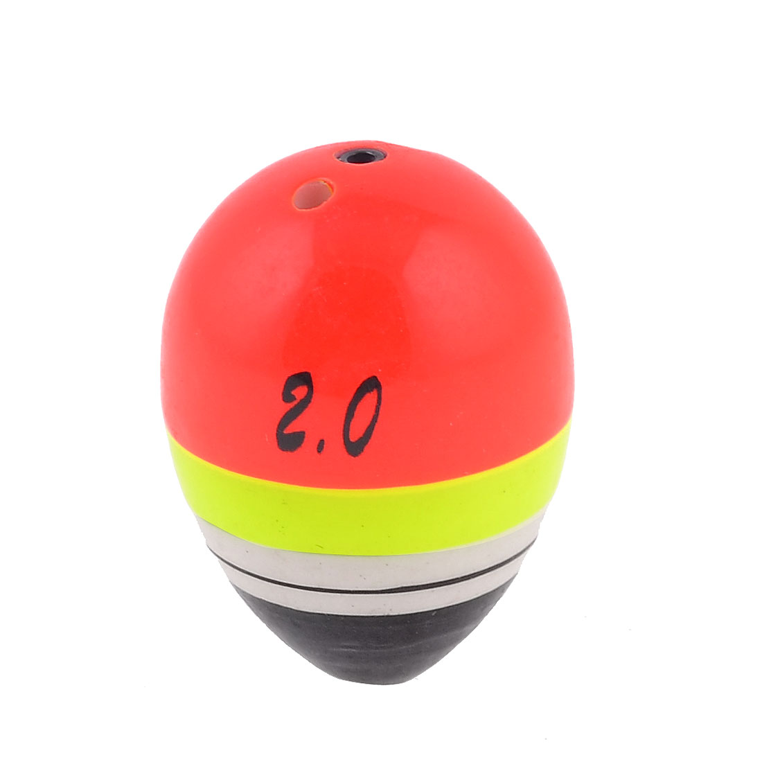 Plastic Colored Fish Angler Bobber Oval Fishing Float