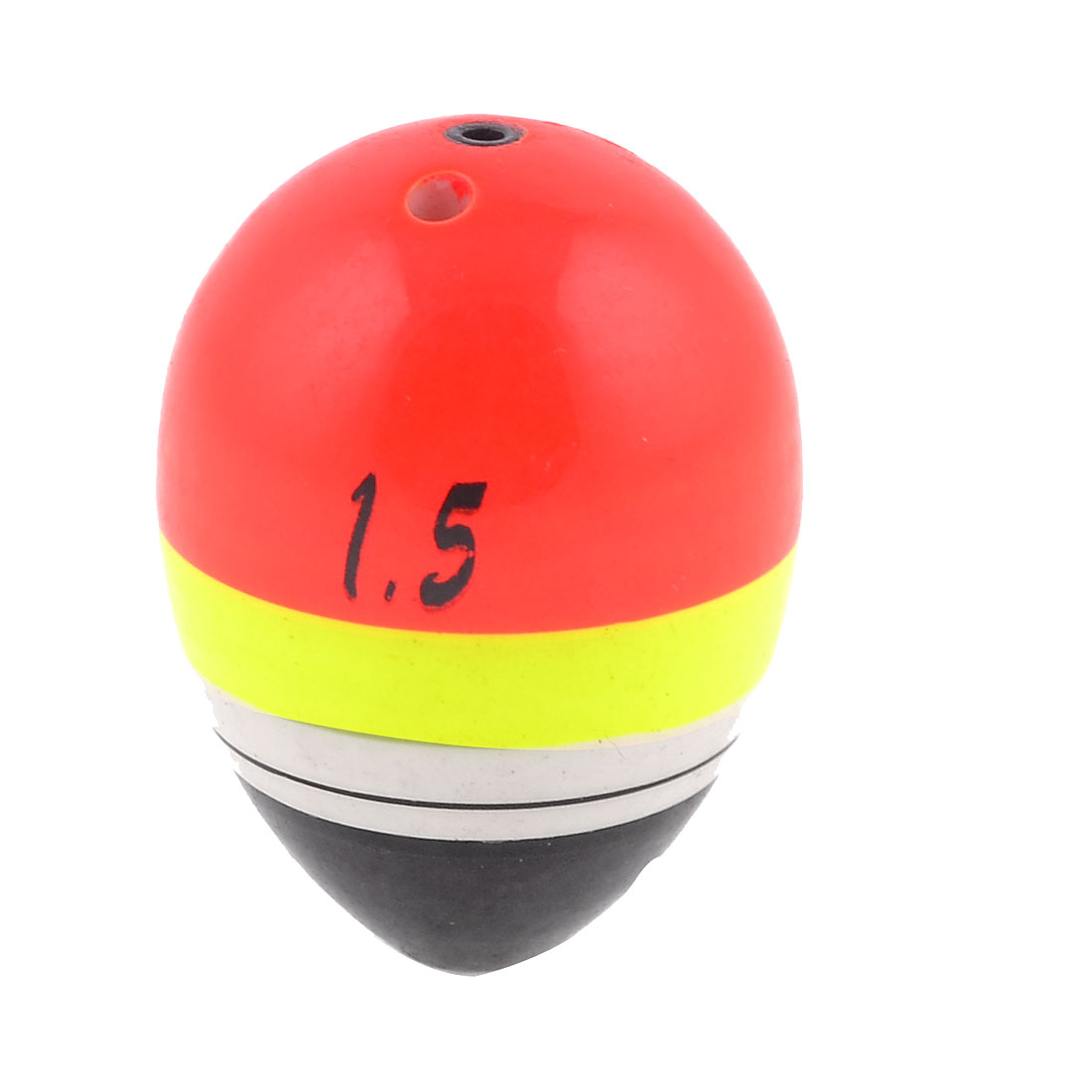 Plastic Colored Fish Angling Bobber Oval Fishing Float 42mm x 3mm