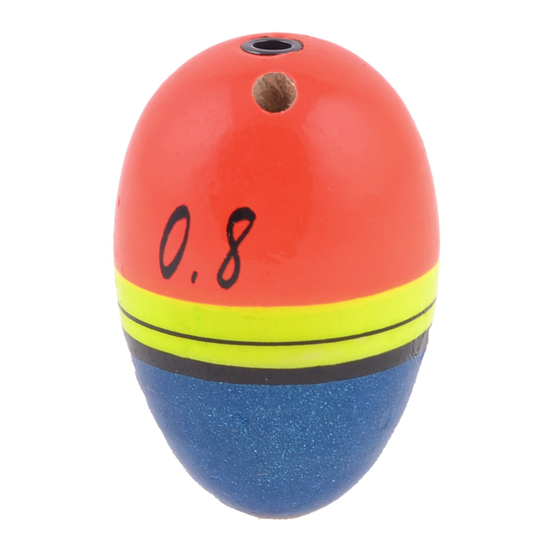Fish Colorful Oval Plastic Fishing Tackle Floating Bobber 38mm x 25mm