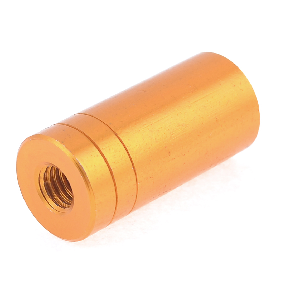 1.8cm x 3.8cm Copper Tone Aluminum Alloy Connector for Fishing Landing Net