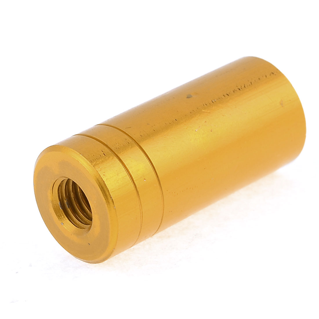 1.7cm x 3.7cm Copper Tone Aluminum Alloy Connector for Fishing Landing Net