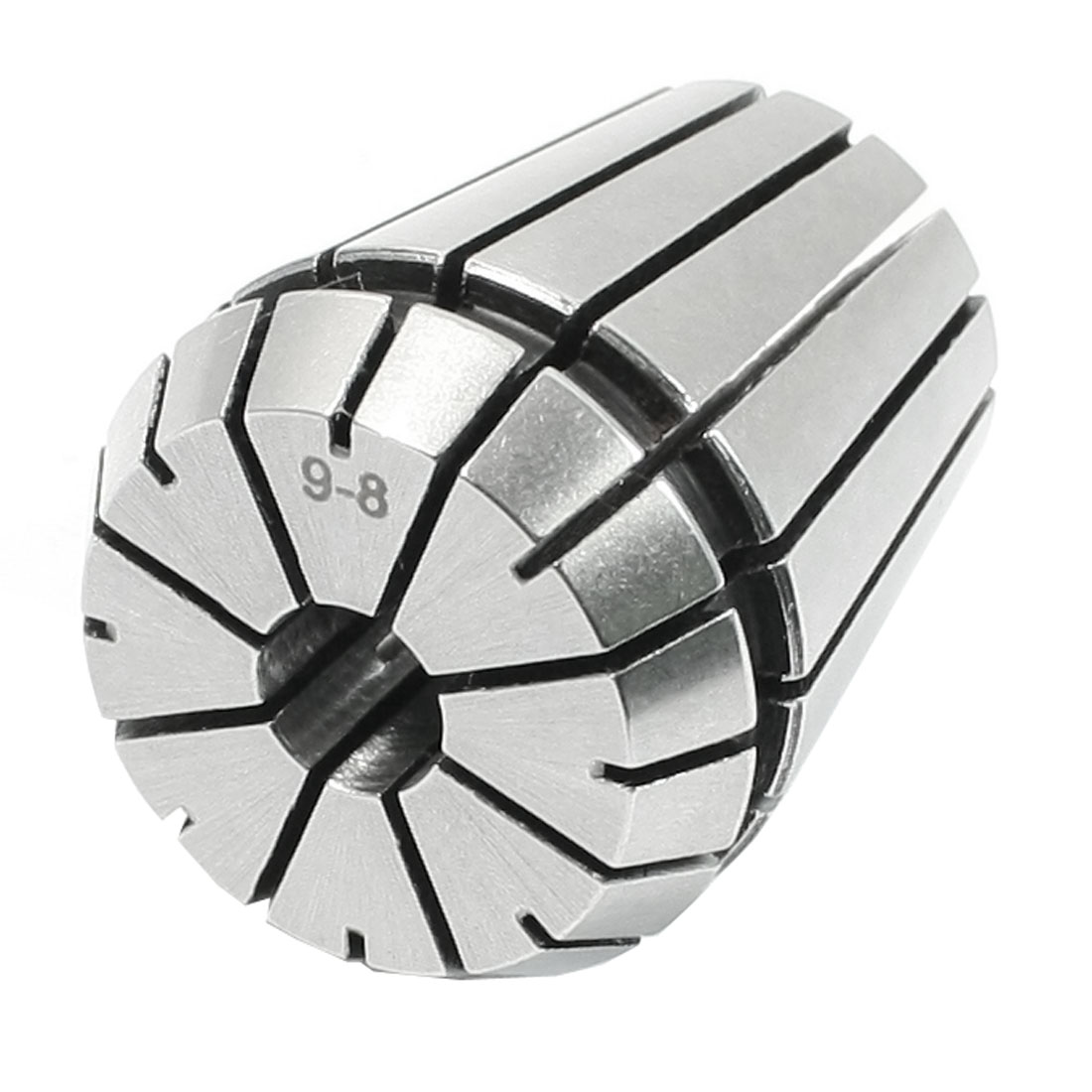 Clamping Range 9-8mm ER32 Precision Spring Collet Tapping Part Silver Tone