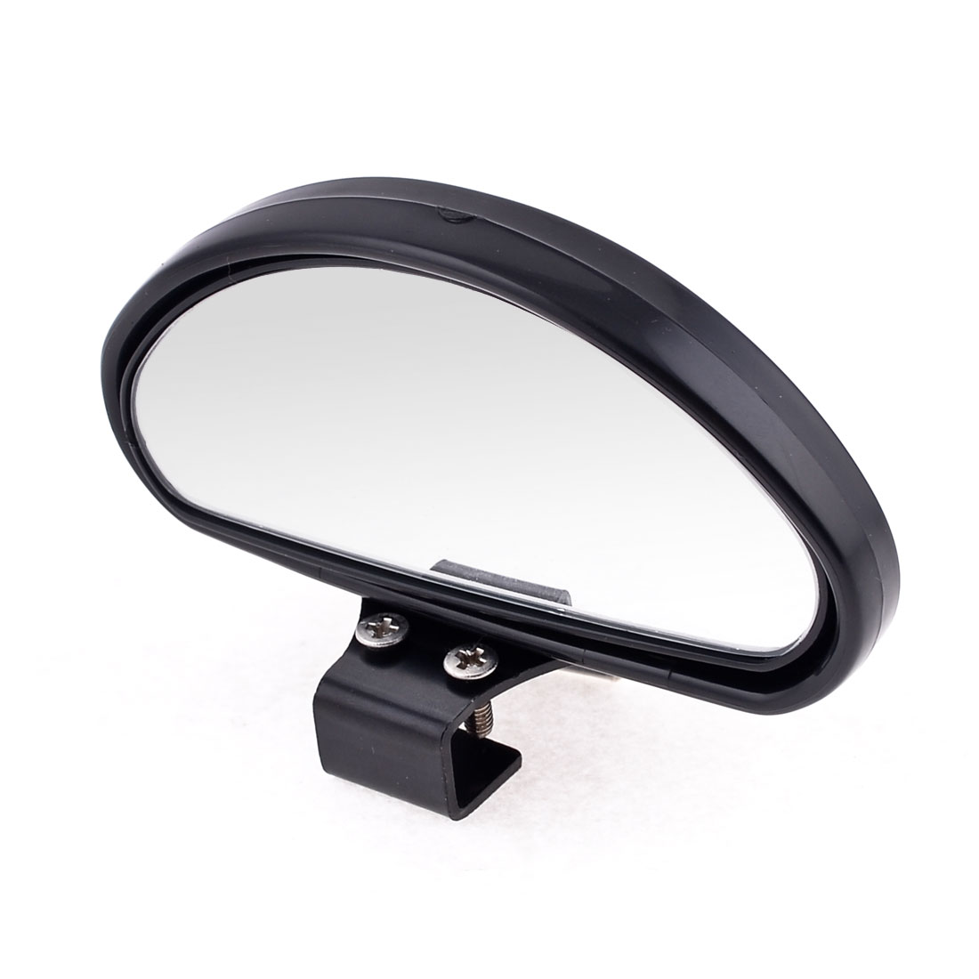 Oval Shape Black Plastic Glass Vehicle Rear View Blind Spot Mirror for Auto Car