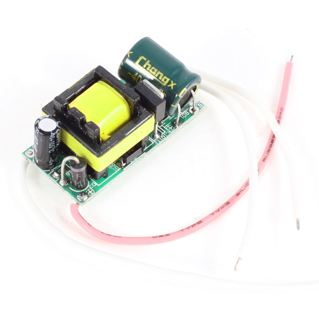 AC 175-265V DC 12-22V 300mA 7 x 1W LED Light Power Driver Transfer