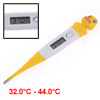 Duck Shape Plastic Shell LCD Display Compact Digital Thermometer 32-44 Celsius