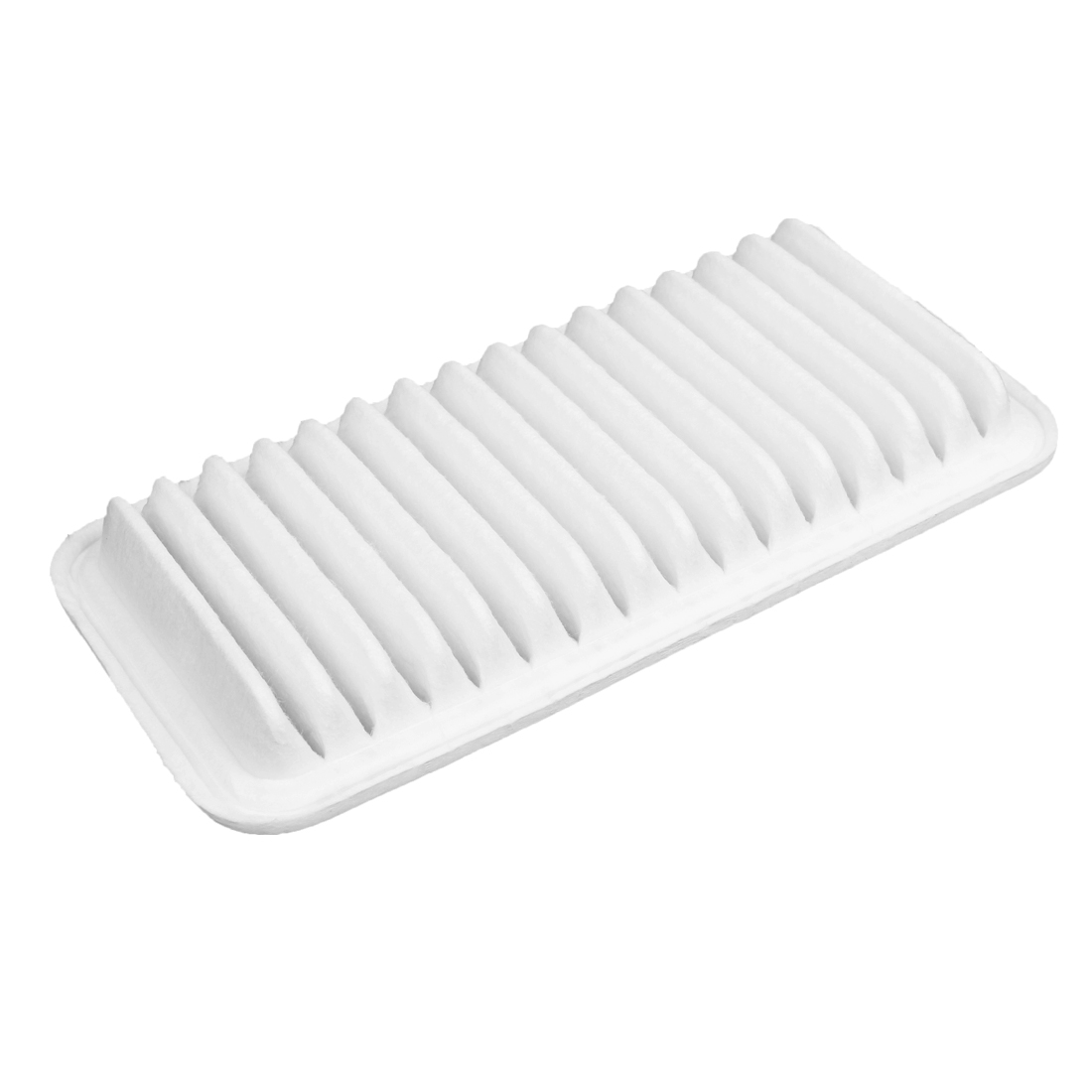 17801-22020 Auto Car Pleat Engine Air Filter Cleaner Panel White