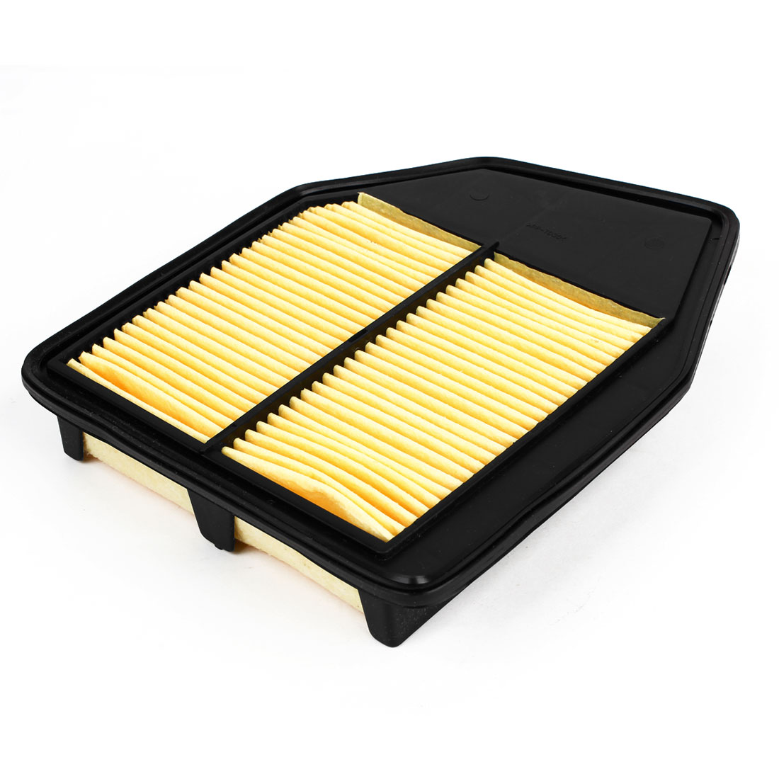 17220-R40-A00 Black Yellow Pleated Panel Engine Air Filter for Car