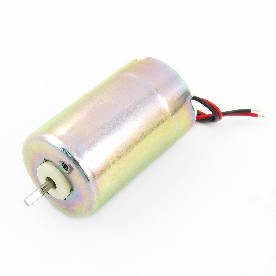DC 12V 18RPM 3mm Dia Shaft 2 Terminal Reducing Gear Motor Replacement Parts
