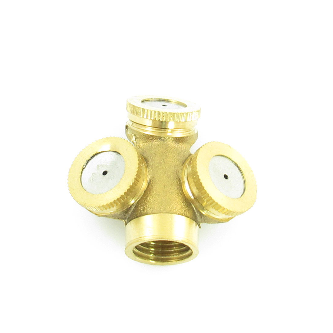 Lawn Yard Garden Three Head 16mm Female Thread Water Sprinkler