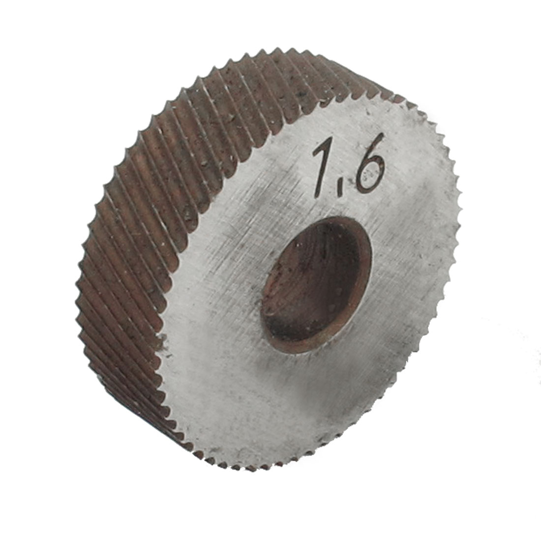 Diagonal Coarse 1.6mm Pitch Linear Knurl Wheel Knurling Tool